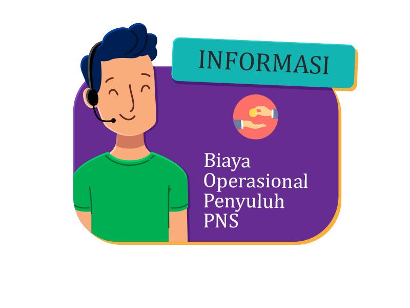 BIAYA OPERASIONAL PENYULUH